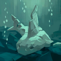 What lies in the deep